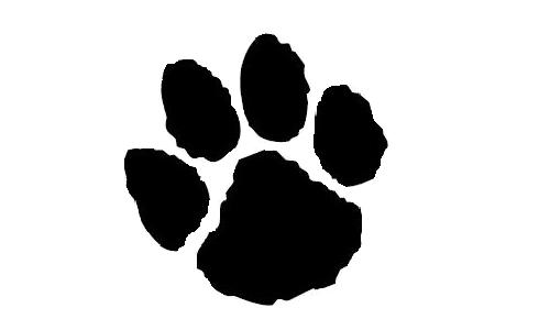 banner royalty free library jaguar paw prints free jaguar paw print download free clip art free