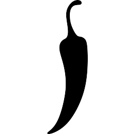 svg royalty free stock Chili clipart black and white. Jalapeno png transparent pepper.