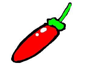 clipart royalty free download Jalapeno drawing. Red jalape o by