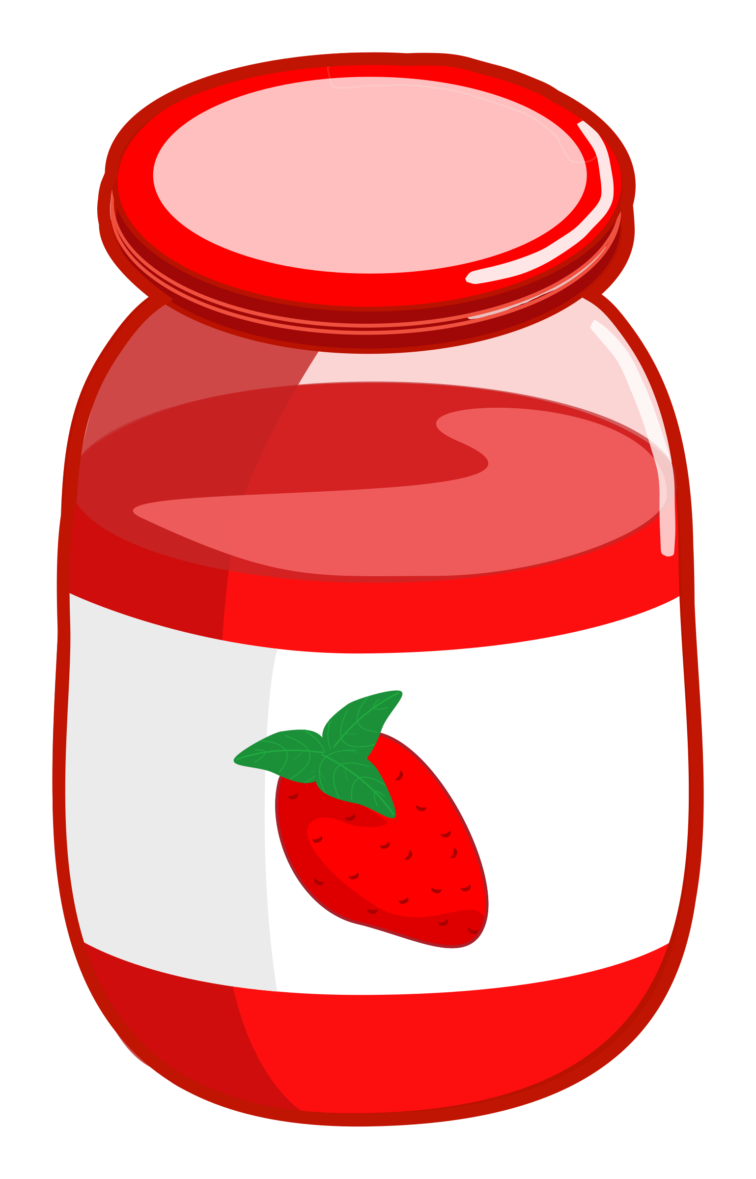 stock Jam clipart. Strawberry sauce free on.