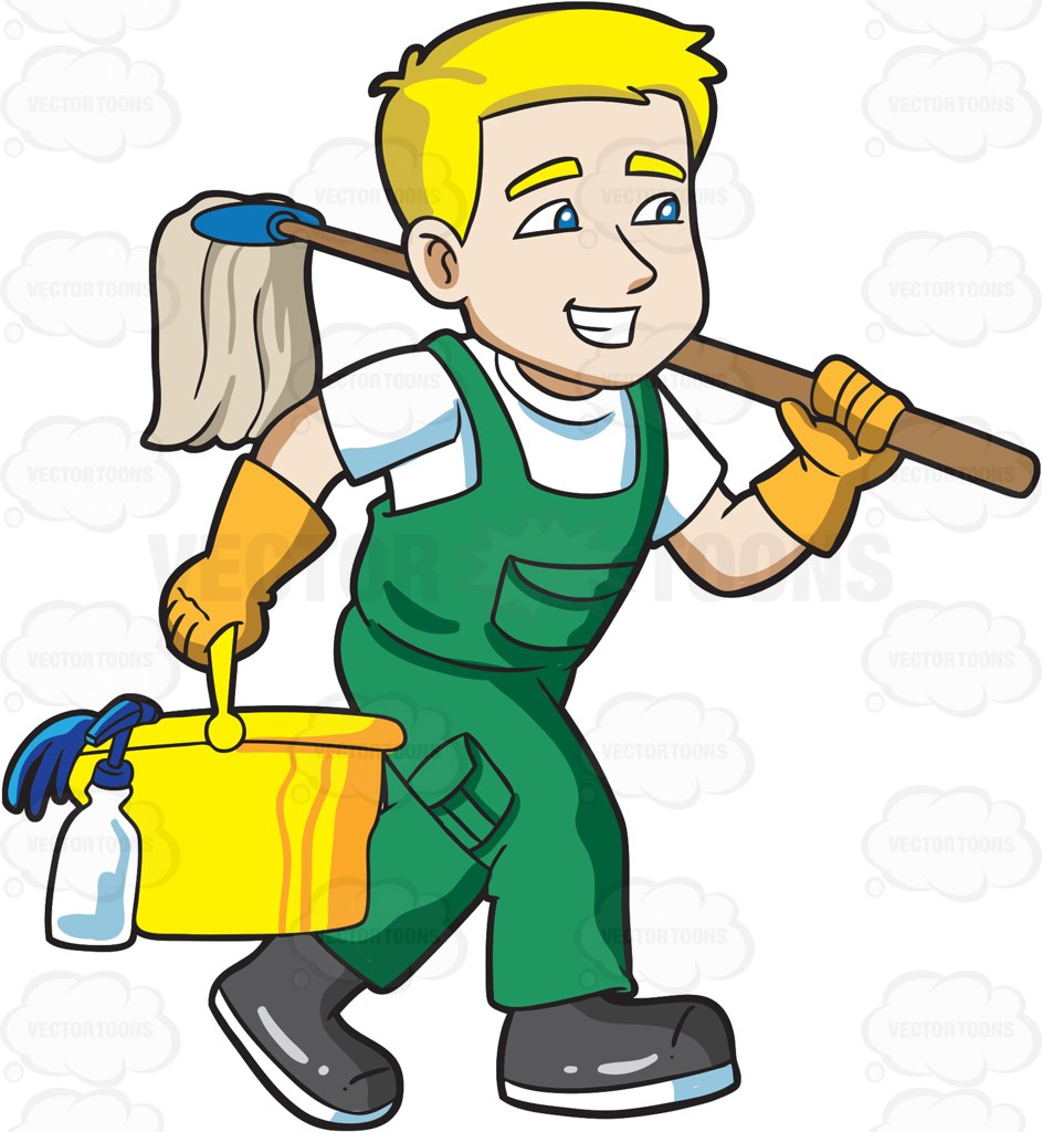transparent download Cliparts free download best. Janitor clipart.