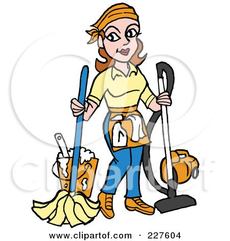 svg royalty free stock Janitor clipart. School clip art royalty.