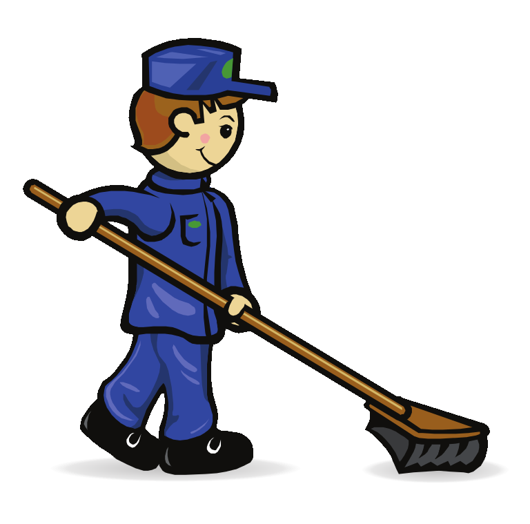 banner free download Janitor clipart sweeper. Free cliparts download clip
