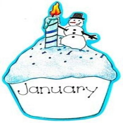 picture transparent library January birthday clipart. Free cliparts download clip.
