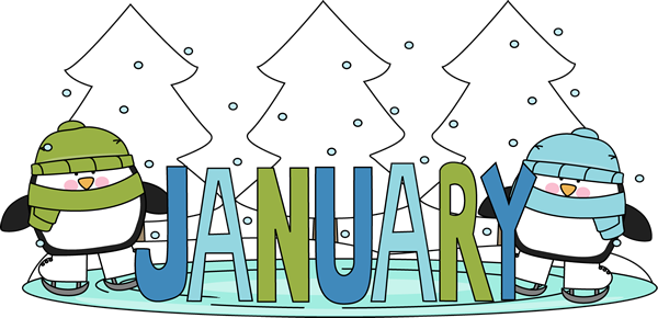freeuse download January Winter Clipart