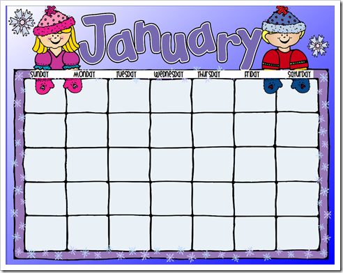 clipart royalty free library Free cliparts download clip. January clipart for calendars.