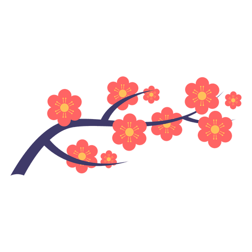 picture transparent Japanese flower ornament