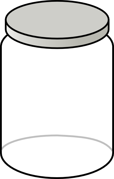 clip art free stock Image of mason jar. Empty wallet clipart.