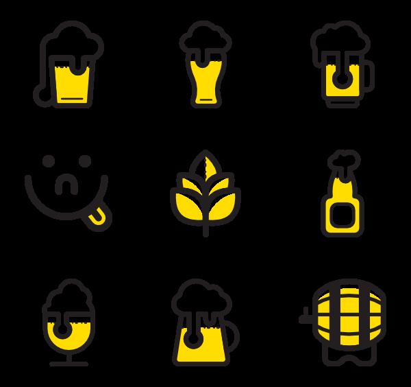 jpg free library Bar vector beer. Jar icons free set