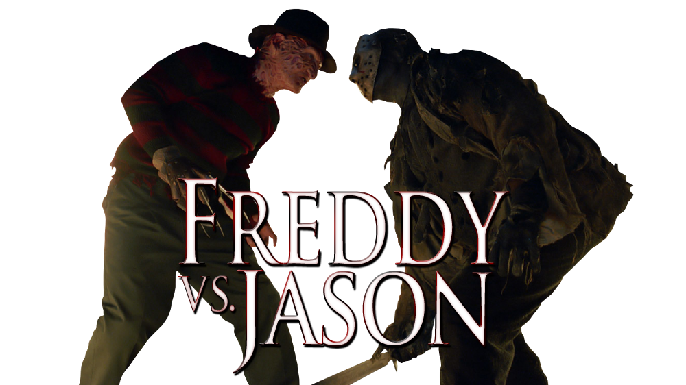 clip art black and white library Jason transparent freddy vs. Movie fanart tv image