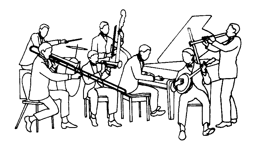 png transparent Free Jazz Band Cliparts