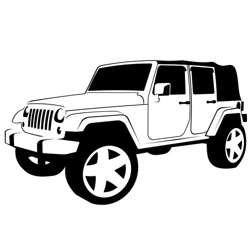 banner Jeep clipart. Of rubicon google search