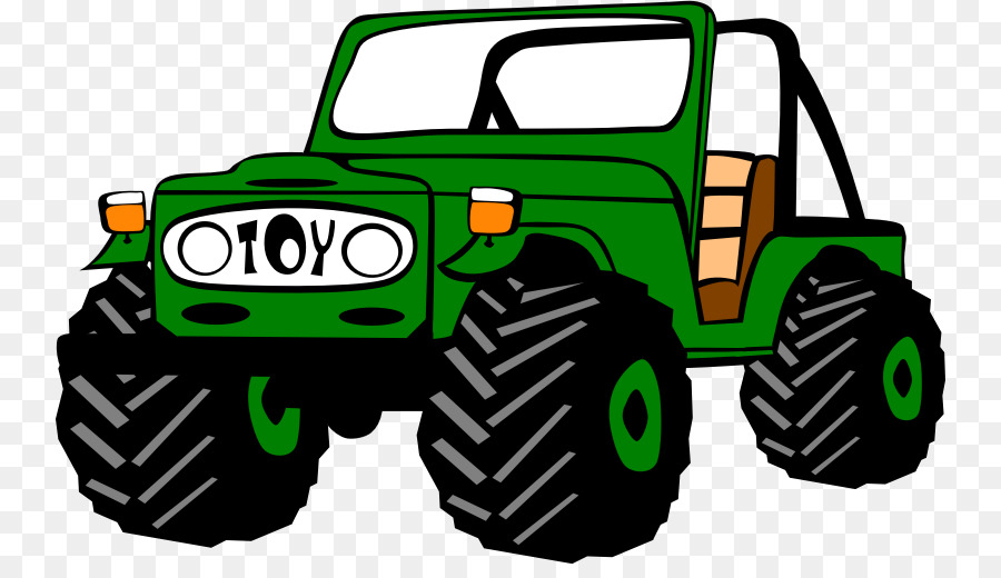 transparent stock Car cartoon yellow transparent. Jeep clipart