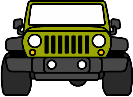 clip transparent stock Jeep clipart. Car rear frames illustrations