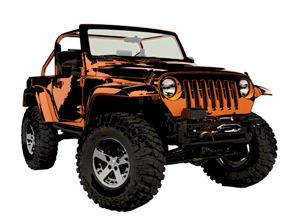 banner transparent library Clip art at clker. Jeep clipart