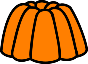 graphic library Jelly clipart. Orange clip art at