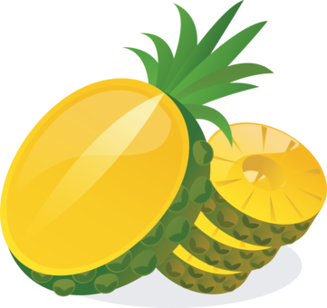 graphic free library Rings drawing pineapple. Guava juice tropical fruit
