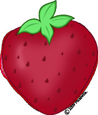 clip download Cute Strawberry Clipart