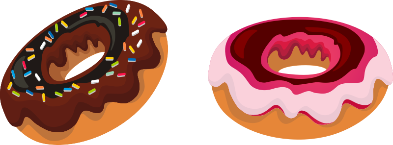 clip art transparent Jelly doughnut clipart. Language arts lesson day