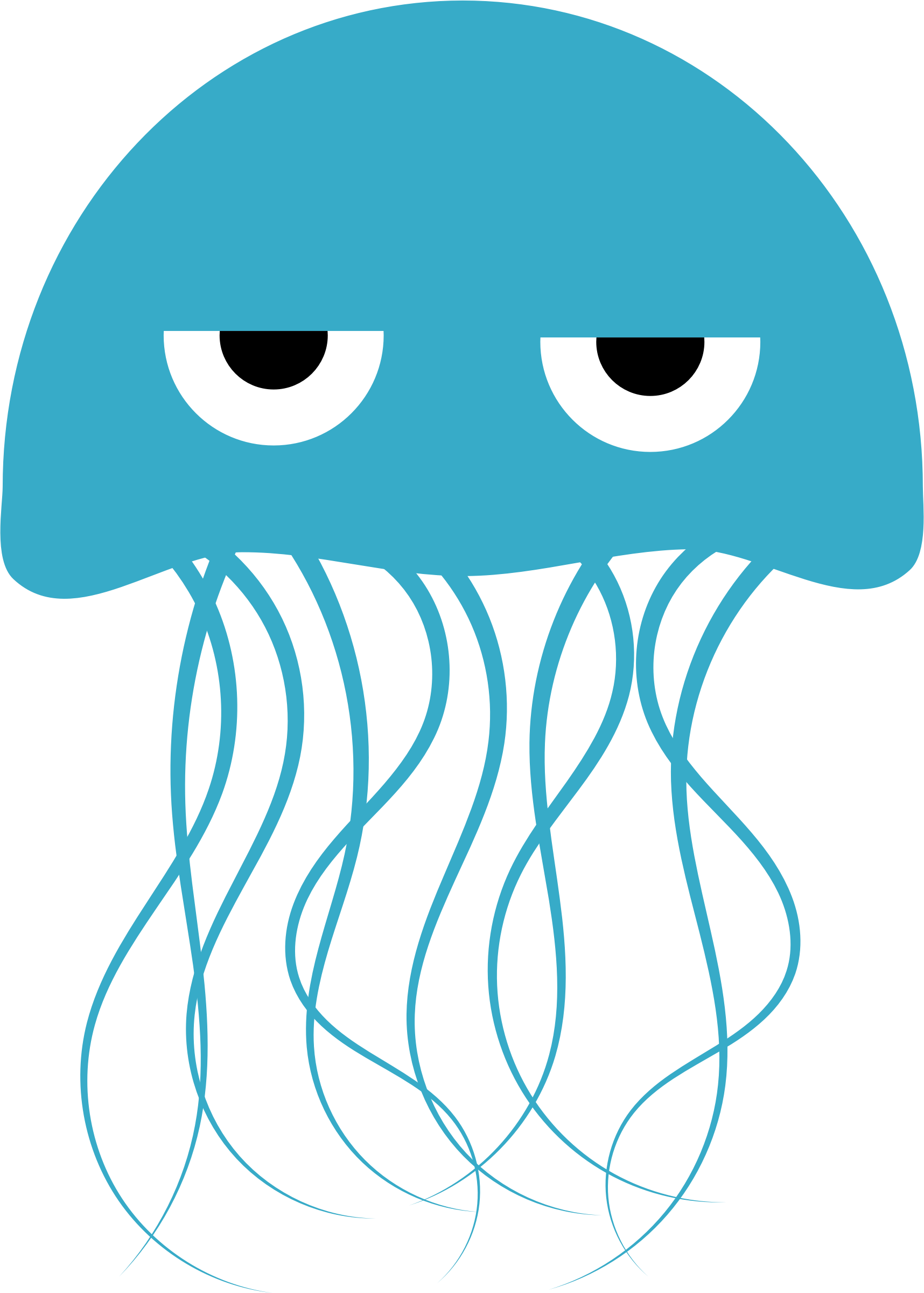 clip transparent library Jellyfish clipart. Transparent background free on.