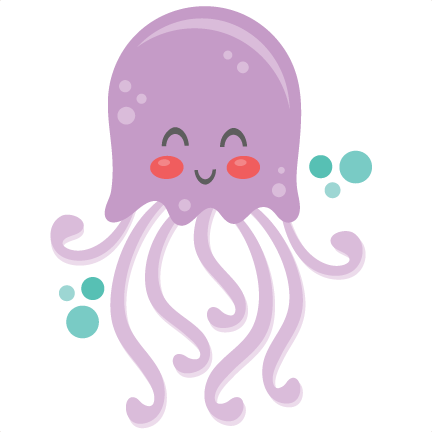 vector royalty free stock  collection of cute. Jellyfish clipart.