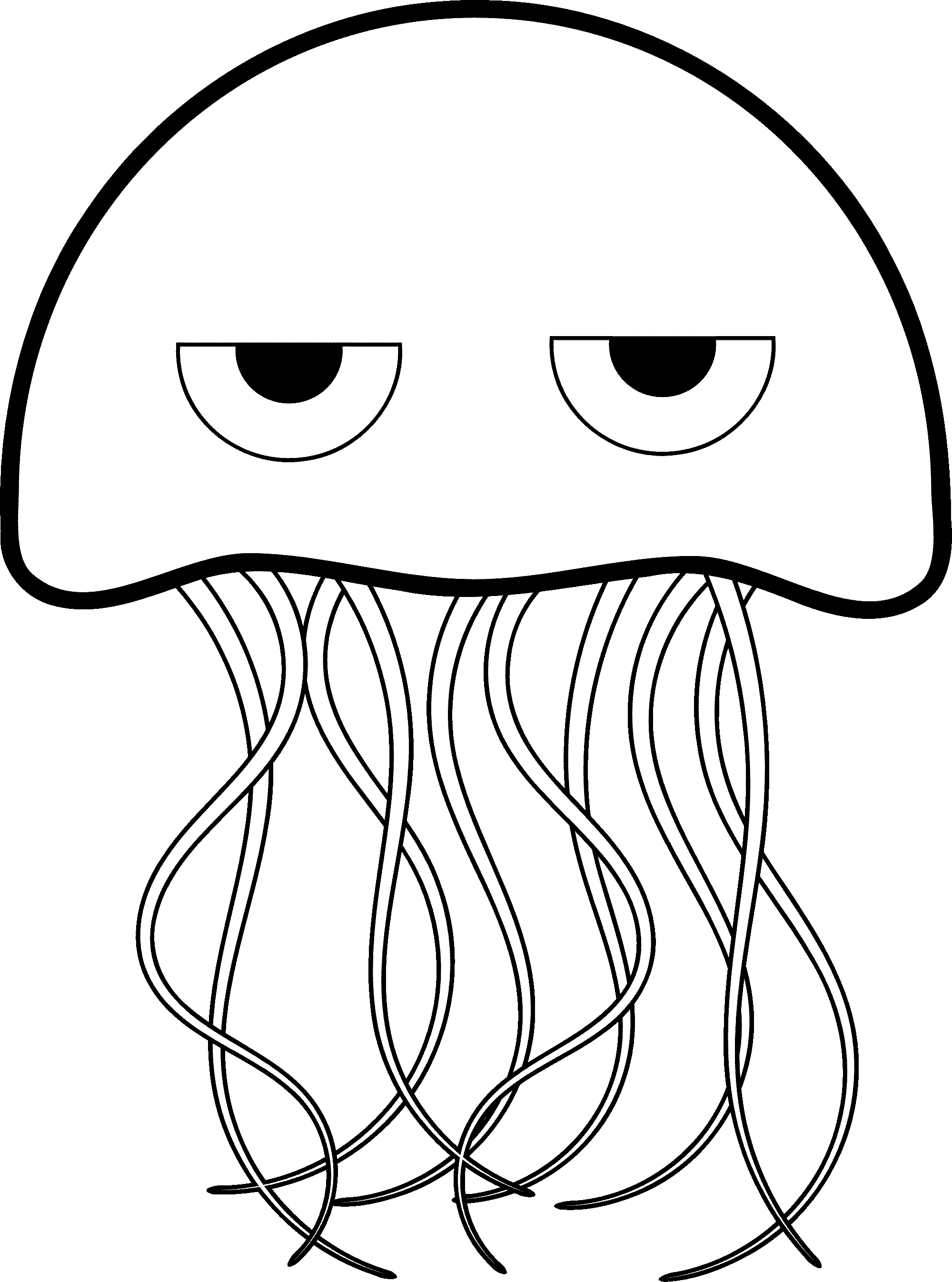 png free library  best jellyfish clipart. Bikini drawing cute