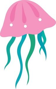 jpg library stock Jelly clipart jellyfish. Free clip art images
