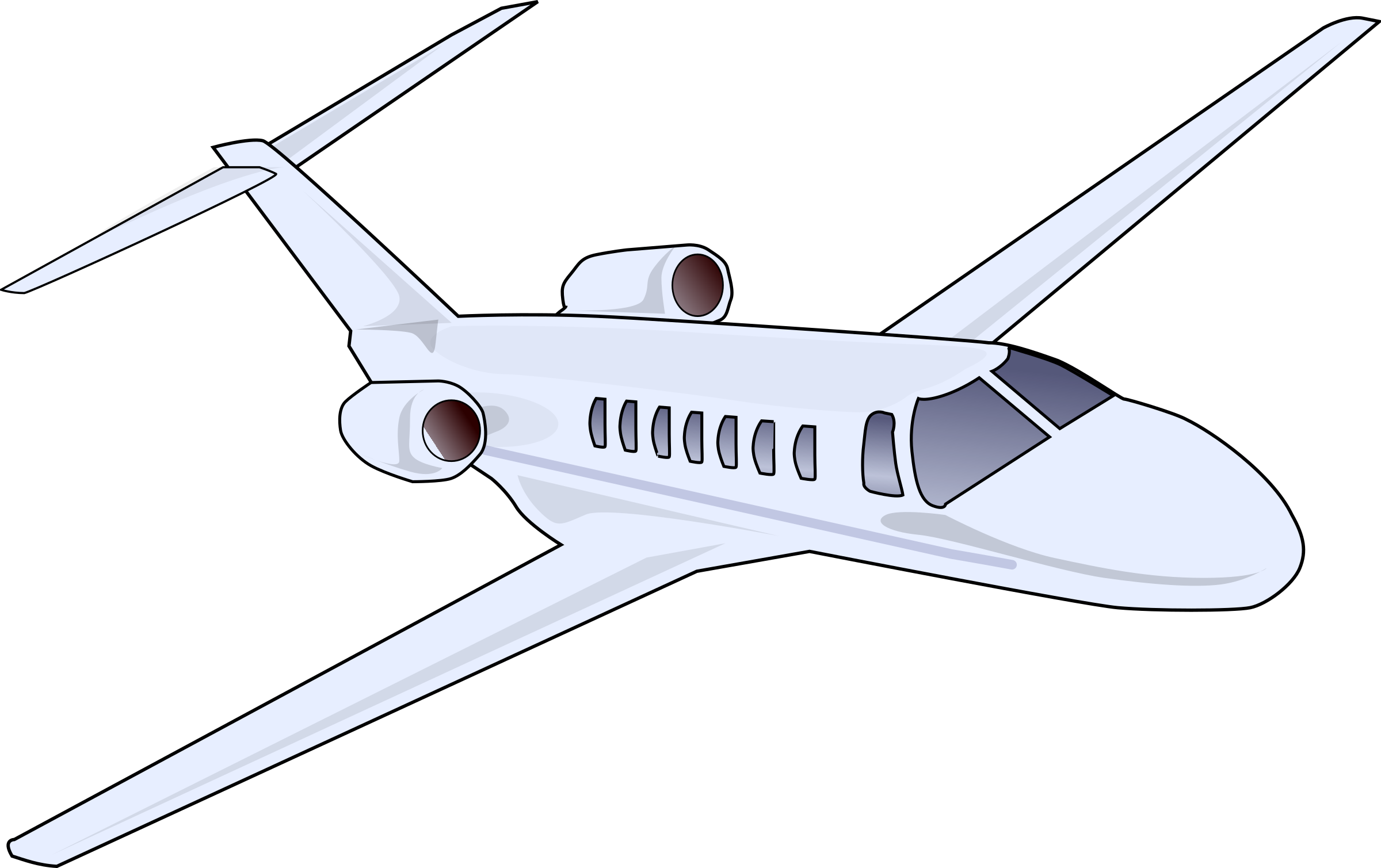 vector Jet clipart. Business