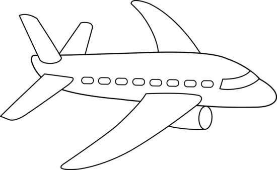 png freeuse stock Letters format free airplane. Jet clipart black and white