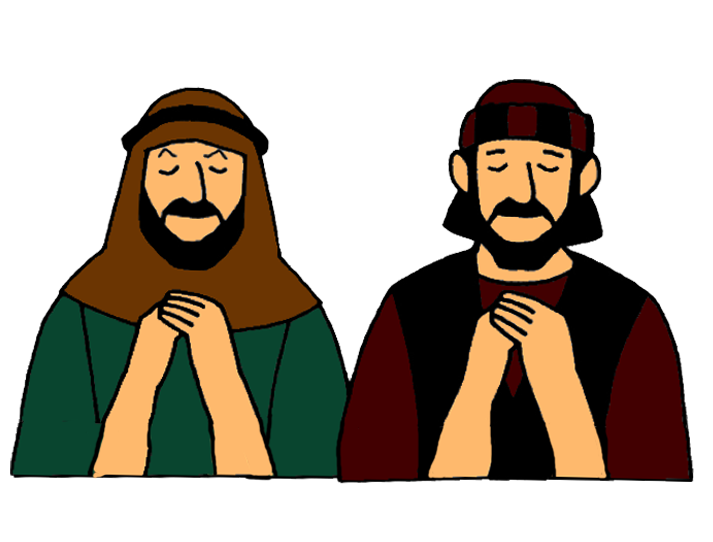 png freeuse library Parable of a Pharisee and a Tax Collector