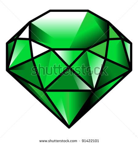 jpg royalty free download Gem panda free images. Jewel clipart emerald stone.