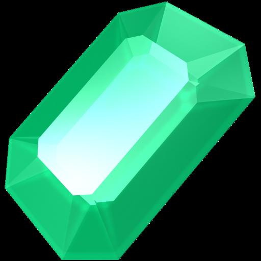 svg library Green gem gemstone precious. Jewel clipart emerald stone.