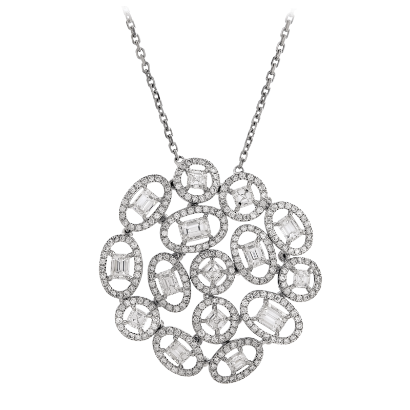 clip transparent library Diamond Pendants by Nirav Modi