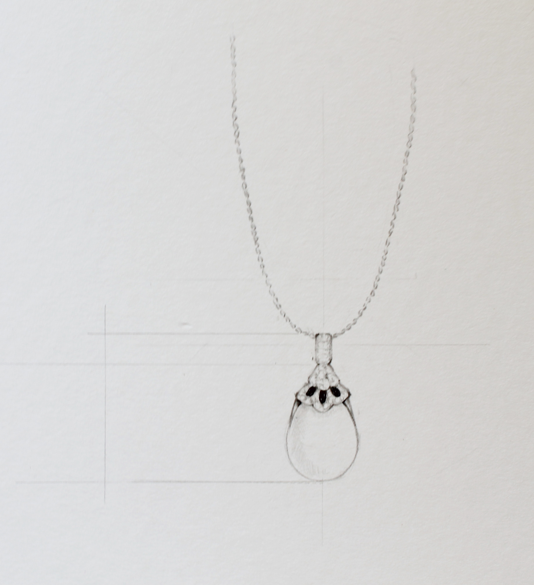 free library How to draw necklaces. Jewels drawing necklace