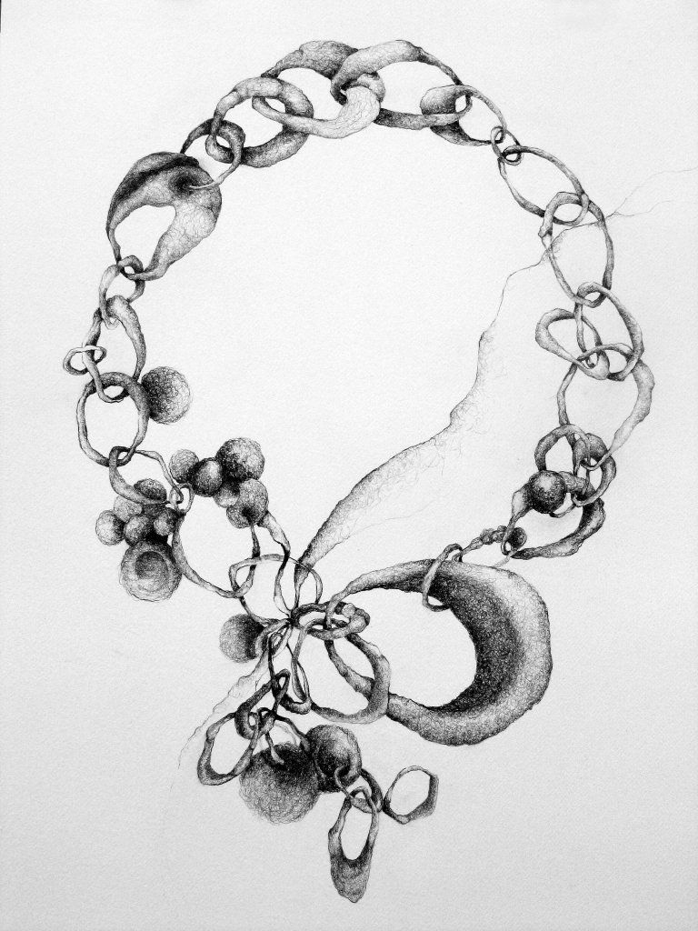 image free Necklace Drawing
