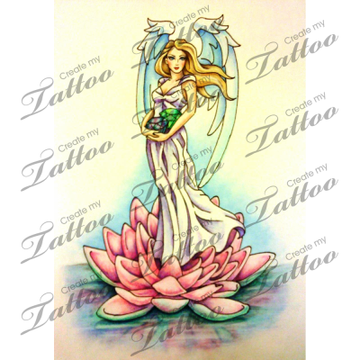graphic black and white download Marketplace Tattoo Angel with Jewels