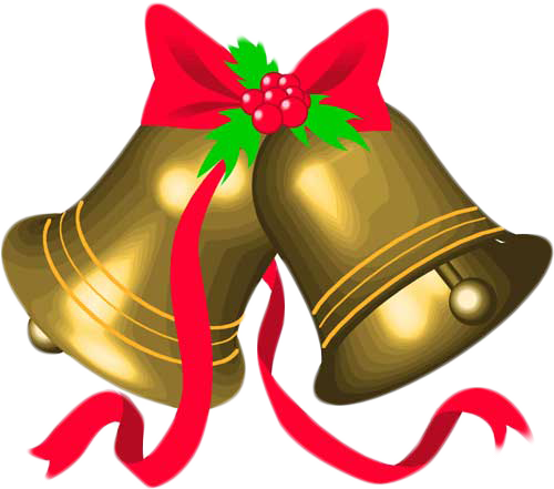 clipart royalty free library Christmas bell bells free. Jingle clipart.