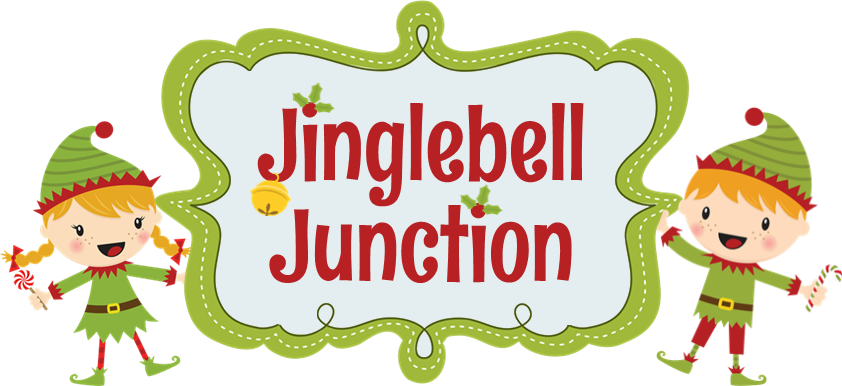 graphic transparent stock Jinglebell junction the merriest. Jingle clipart.