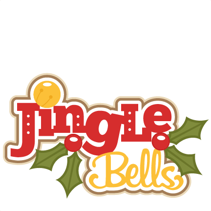 clipart royalty free library Jingle clipart. Christmas bell bells free.