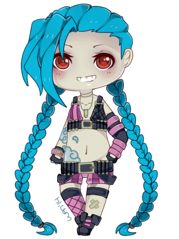 graphic free Jinx by WanNyan on DeviantArt