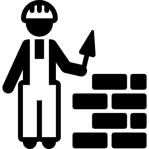 svg black and white download Workman