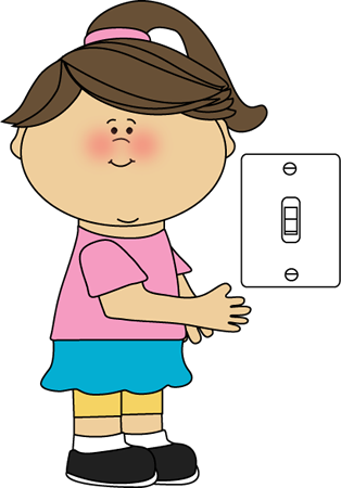 clip royalty free library Girl lights job clip. Classroom students clipart.