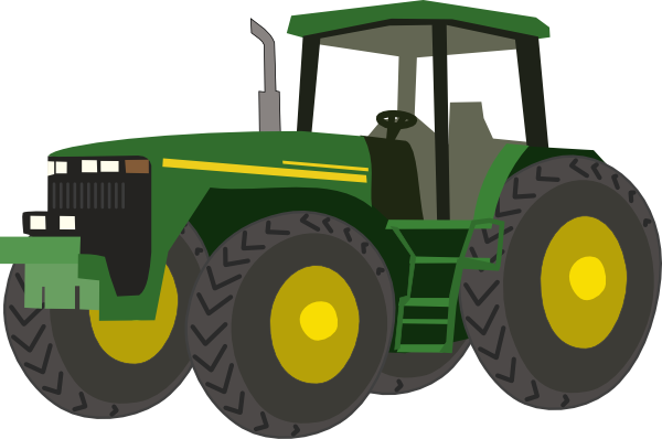 image transparent download John deere clipart. Green tractor panda free