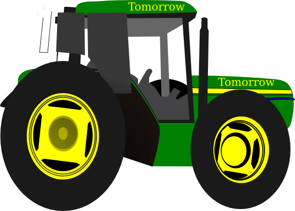 image royalty free download John deere clipart. Tractor silhouette at getdrawings.