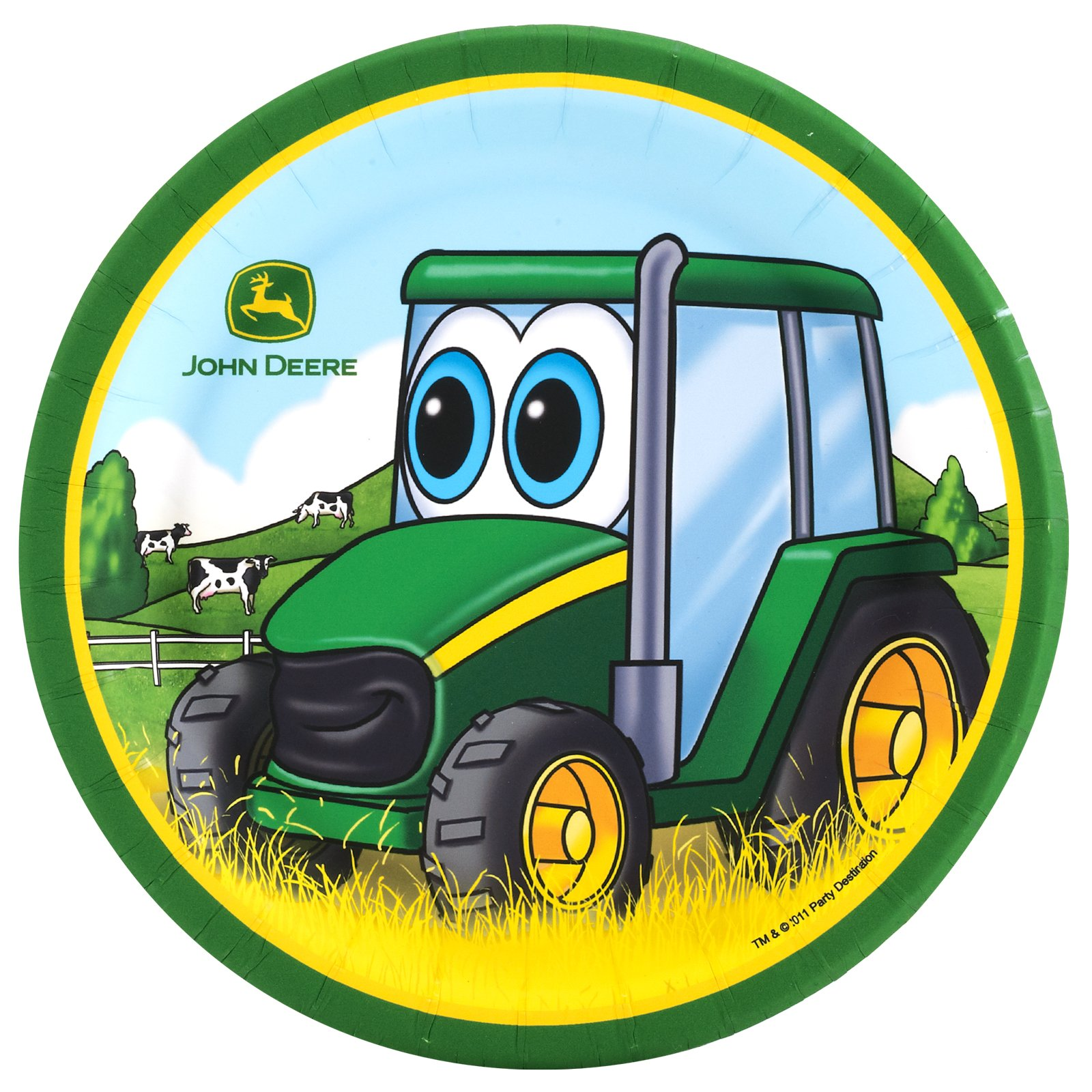banner free download Free cartoon tractor download. John deere clipart animated.