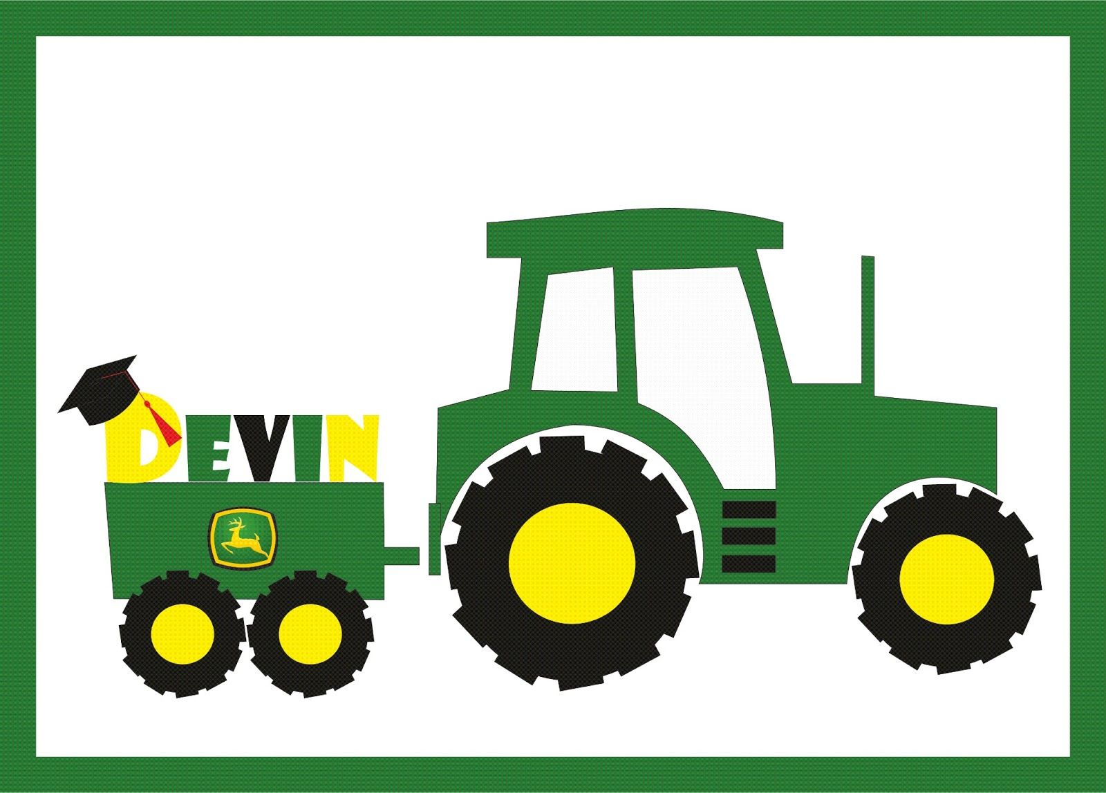 image freeuse library Pin on . John deere clipart hand