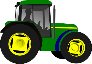 vector library library John deere clipart. Green tractor panda free.