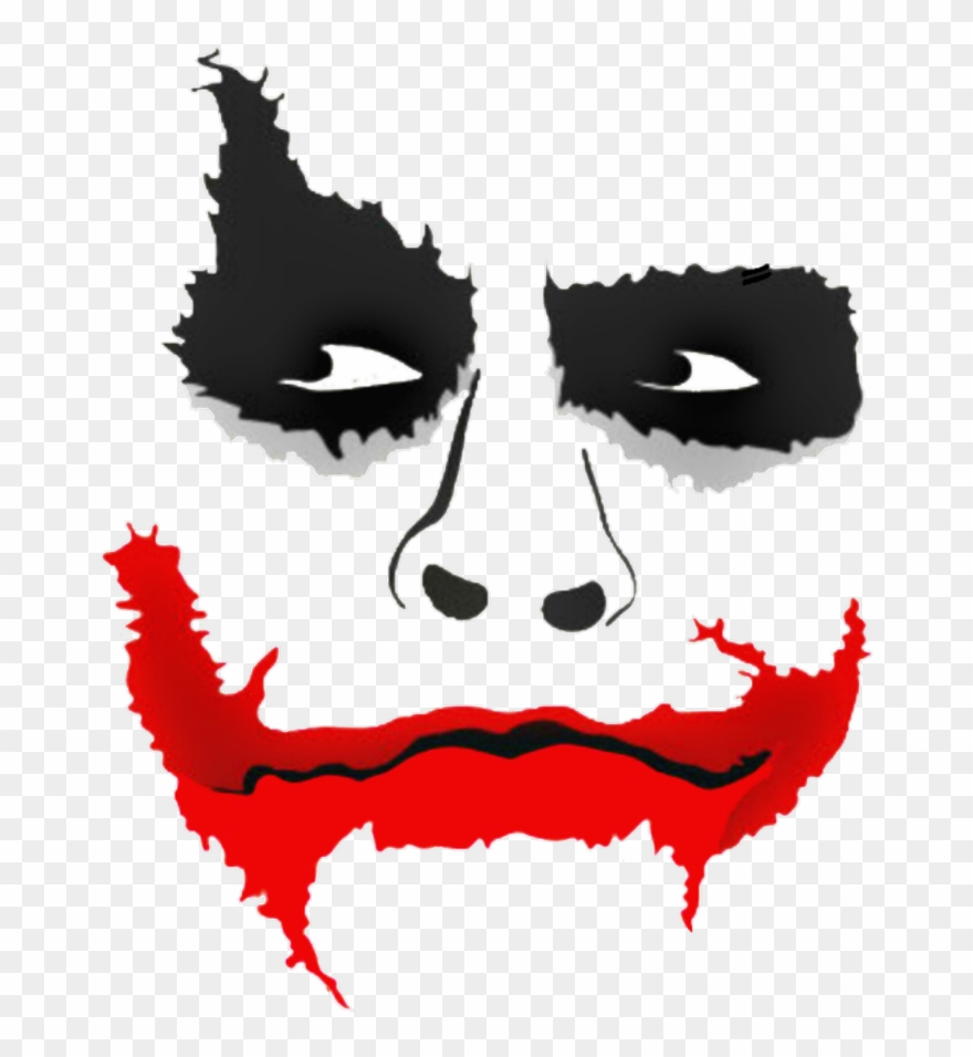 royalty free download Joker clipart. Lips picsart face png