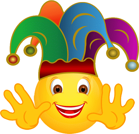 clip art library Aa fille smiley motic. Joker clipart.