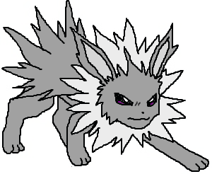 black and white stock By mlpmintheartandcandy on deviantart. Jolteon drawing base pokemon